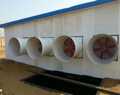 玻璃钢风机养殖安装