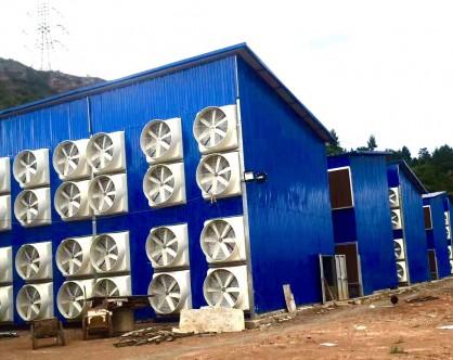 玻璃钢风机安装