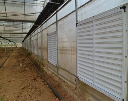 温室风机安装